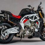 Here's a V6 2,5 L MAD Street-bike. FGR Midalu 2500 V6 10