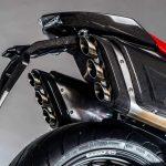 Here's a V6 2,5 L MAD Street-bike. FGR Midalu 2500 V6 8