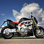 Here's a V6 2,5 L MAD Street-bike. FGR Midalu 2500 V6 13