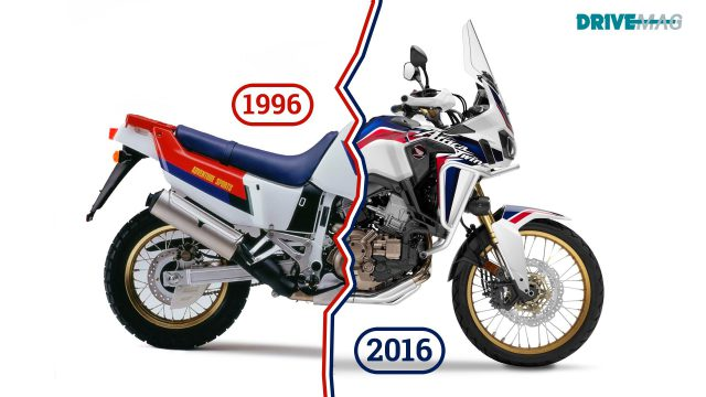 Old vs New. How the big-adventure motorcycles changed in 20 years 4