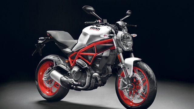 Ducati Monster 797 Revealed. Old-school Monster package 1