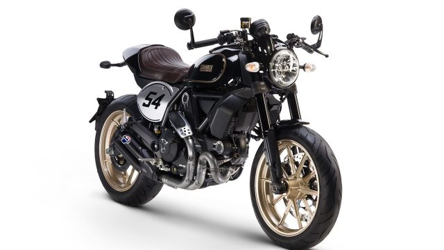 New Scramblers by Ducati: Cafe Racer & Desert Sled 1