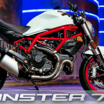 Ducati Monster 797 Revealed. Old-school Monster package 3
