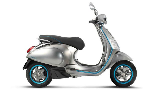Vespa Elettrica lights up the scooter world 7