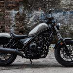"2017 Honda Rebel. ""Y Generation"" small cruiser bike 13"