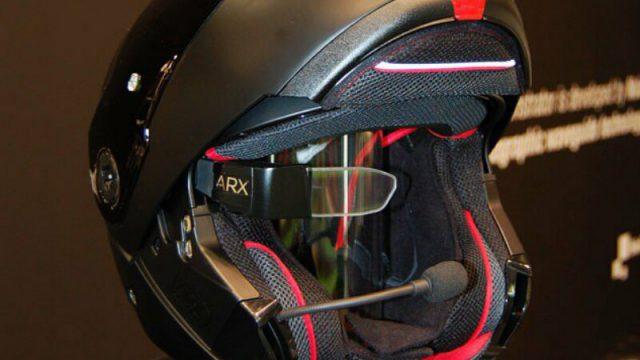 Nolan & Sony created their Helmet of the Future 1