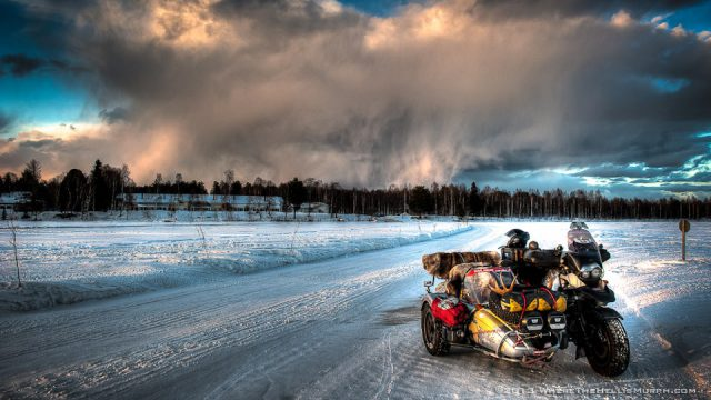 Meet Murph. Exploring the Arctic Circle Alone on a Motorcycle 1
