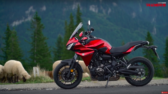 2016 Yamaha Tracer 700 VIDEO Test Ride 4