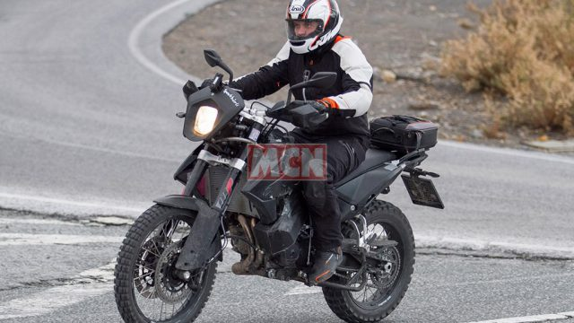 KTM 790 Adventure Spy Shots. The Next Adventure Middleweight 1