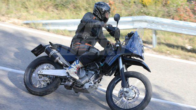 KTM 390 Adventure Spied: First Photos 1