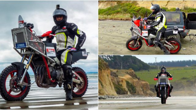 This Yamaha R1 was transformed into a Beach Killer 10