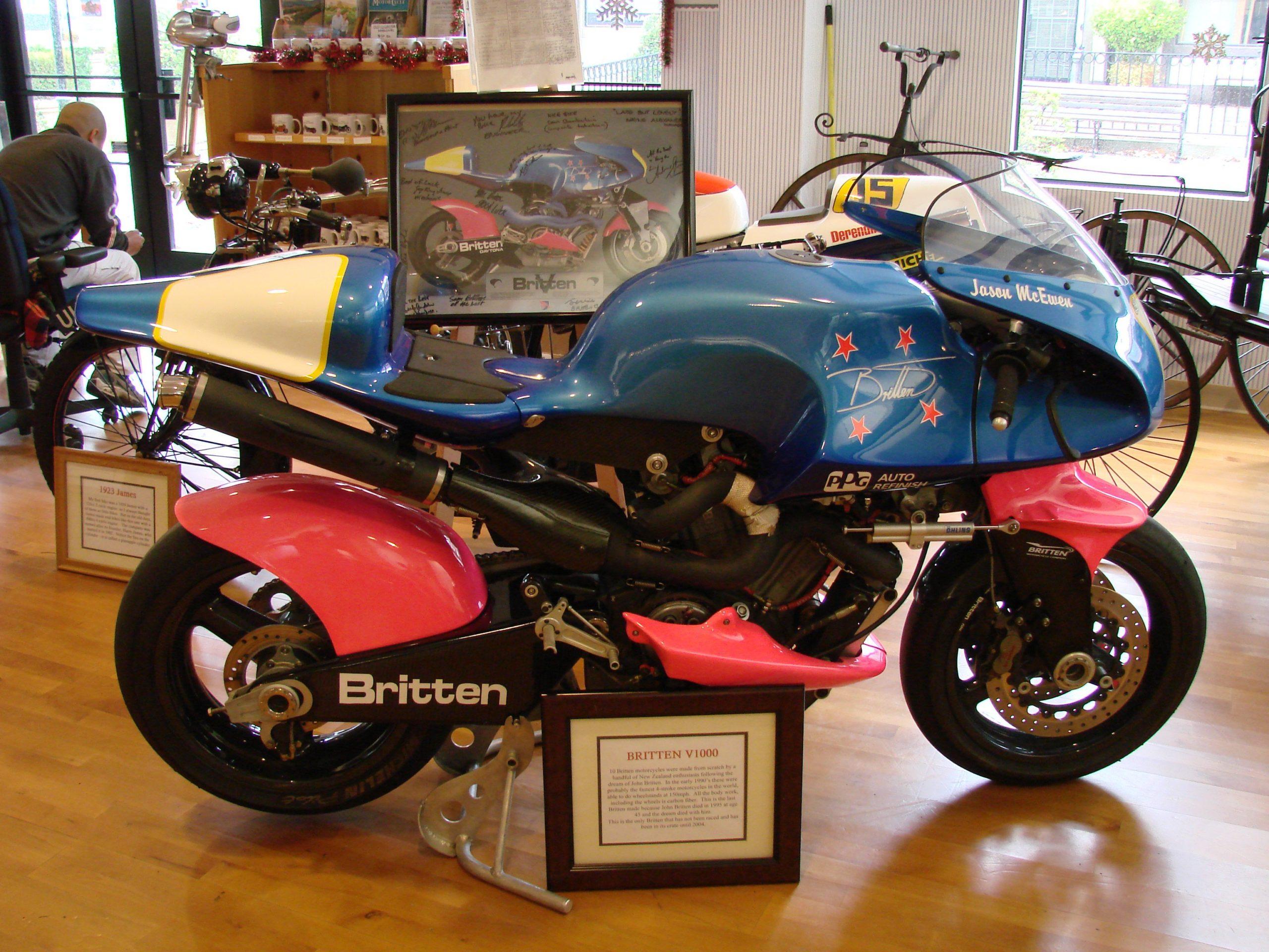 Britten V1000 - The Kiwi Brewed Champion 2