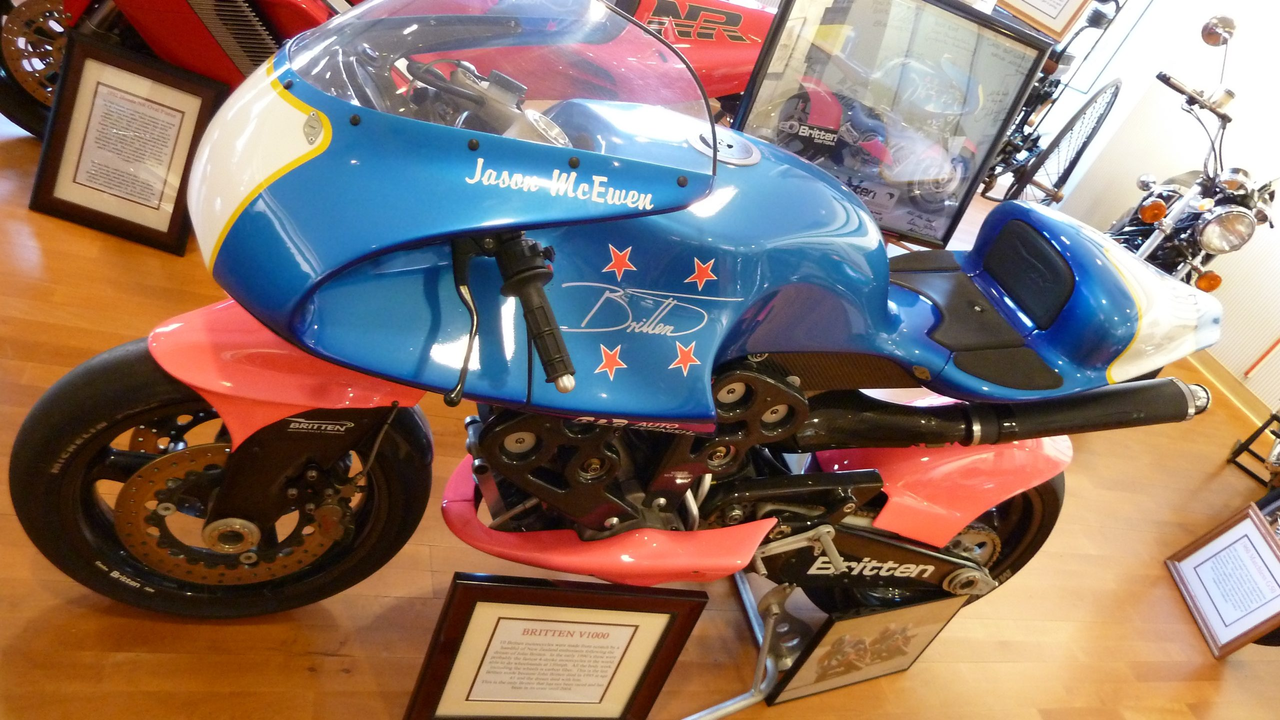 Britten V1000 - The Kiwi Brewed Champion 6