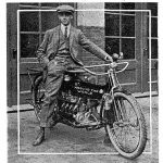Meet the First Round-the-World Motorcyclist. The 1912