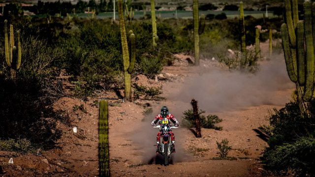 2017 Dakar Rally Stage 3 Honda Rally 02