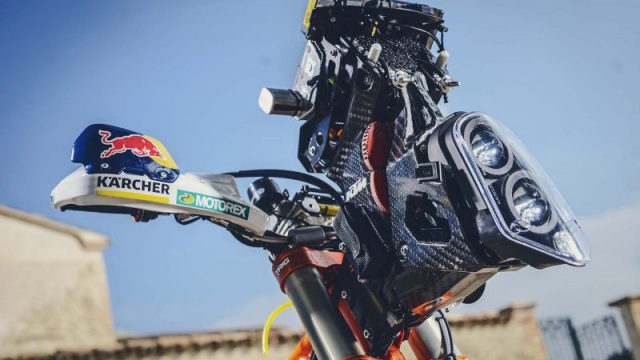 Meet the Sentinel. Dakar Rider's Guardian Angel 3