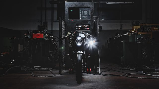 "MV Agusta presents ""Dragster Blackout."" Motorcycle Art Level: 100 1"