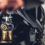 "MV Agusta presents ""Dragster Blackout."" Motorcycle Art Level: 100 3"