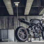 "MV Agusta presents ""Dragster Blackout."" Motorcycle Art Level: 100 10"