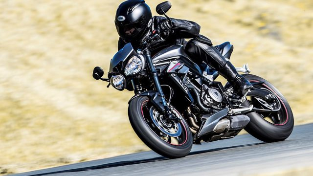 New Triumph Street Triple: the VIDEO 1