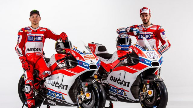 2017 Ducati GP17 unveiled. First Time for Lorenzo in Red 4