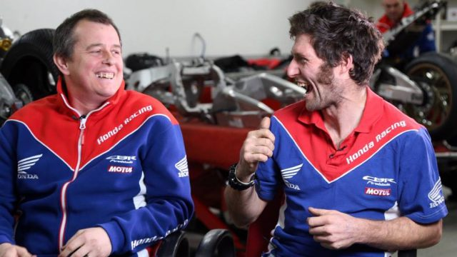 Guy Martin And John McGuinness