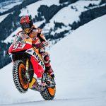 Watch Marquez take his MotoGP bike to Ski. Full Video 3