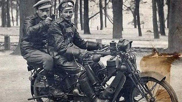 Russian Motorcycle Gun
