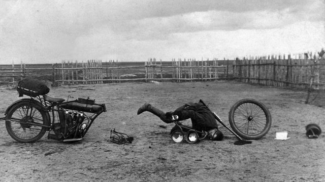 World War I Motorcycles in the Russian Empire - Iconic Photos 1