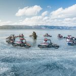 Watch this Fearless Ride over a Frozen Lake in Siberia in 4K 3