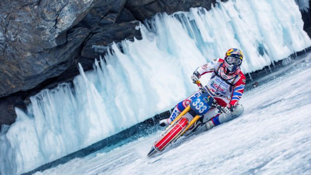 Watch this Fearless Ride over a Frozen Lake in Siberia in 4K 12