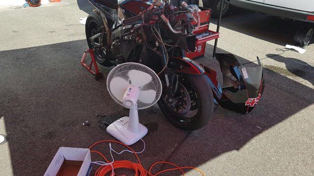 Honda CBR 600 RR boil