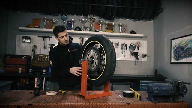 How to Balance a Motorcycle Wheel - Video Tutorial 3