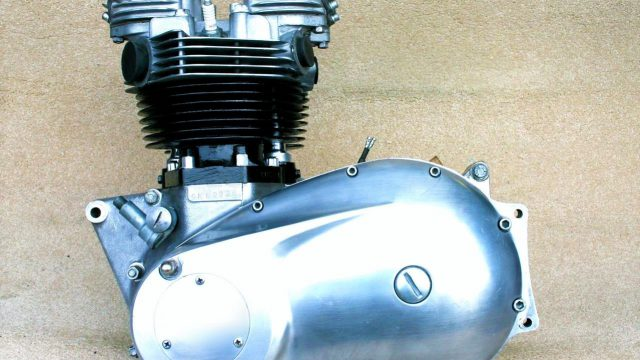 Triumph Boneville Engine