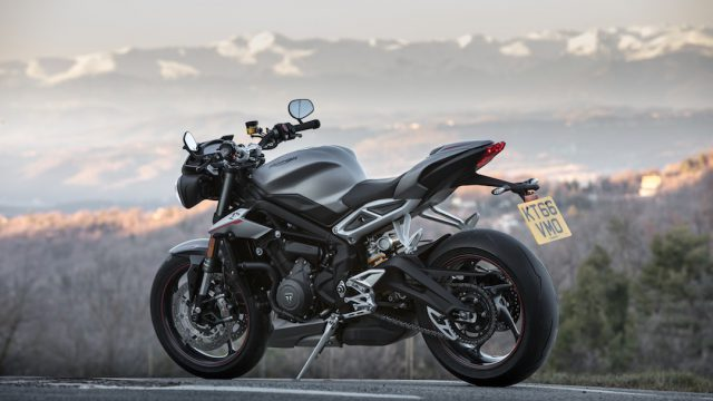 2017 Triumph Street Triple 765 RS11