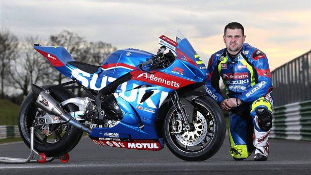 Michael Dunlop to ride the new Suzuki GSX-R1000R at Isle of Man TT 1