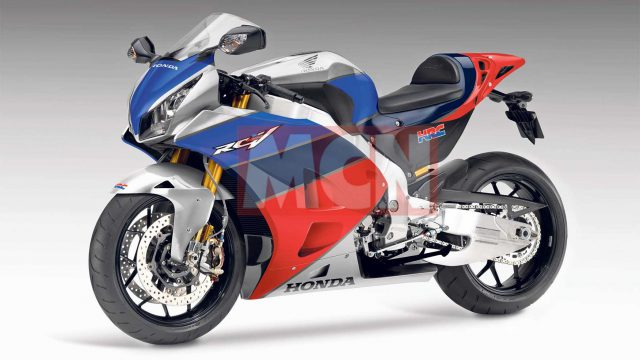 Honda is working on a V4 Superbike. The spirit of RC30 is back 1