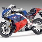 Honda is working on a V4 Superbike. The spirit of RC30 is back 4