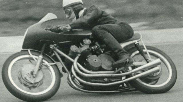 John Surtees on 1956 500cc MV Agusta four