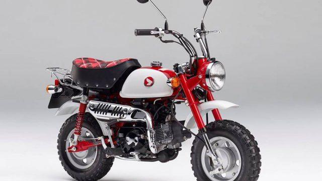 Honda Monkey gets 50th Anniversary Edition 1