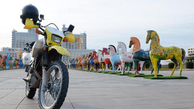 Adventure Ride in Kazakhstan on Suzuki DR650 1