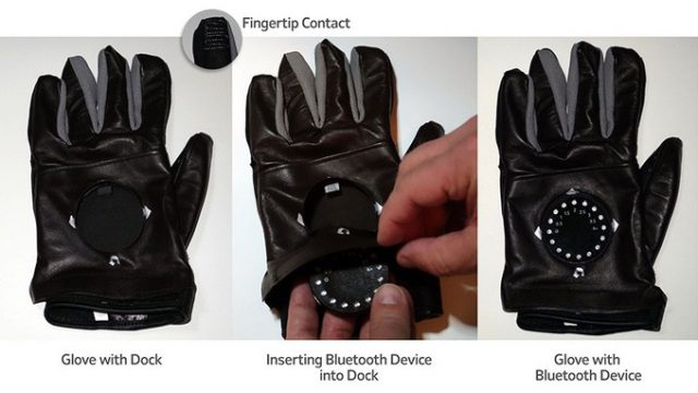 GPS Motorcycle Glove