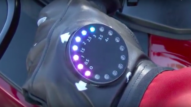 The GPS Smart Motorcycle Glove 1