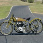 1926 HARLEY-DAVIDSON model 17 FHAC 61ci eight-valve racer test 7