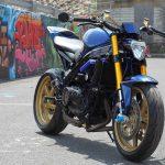 BLUE MEANIE - SEBSPEED's 1996 Honda VFR750 21