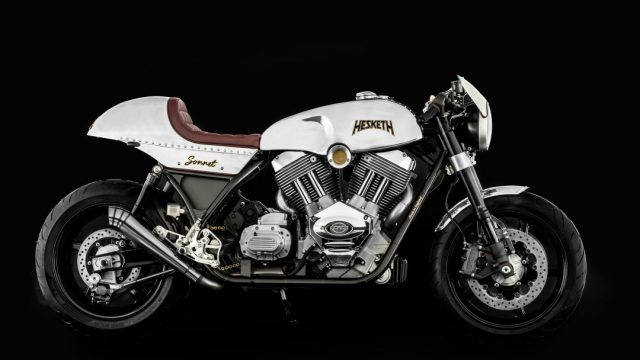Hesketh Sonnet Road Test: Two-Wheeled Cobra, Gone Large 1