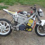 Electrifying Honda VFR 400 8