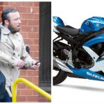"""Man """"attempted sex with a Suzuki motorcycle"""" 4"""