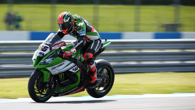 tom sykes was fastest in world superbike practice today photo by tim keeton
