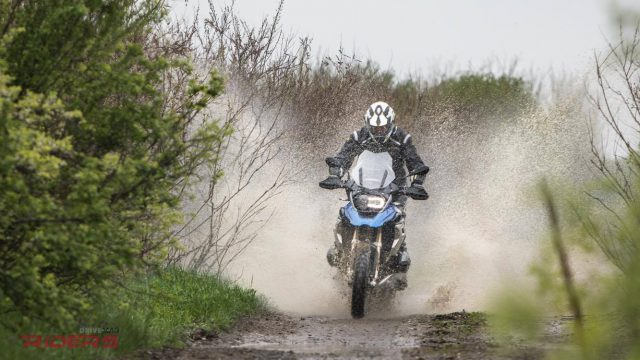 2017 BMW R1200GS Review - Old vs. New Off-Road Test 7